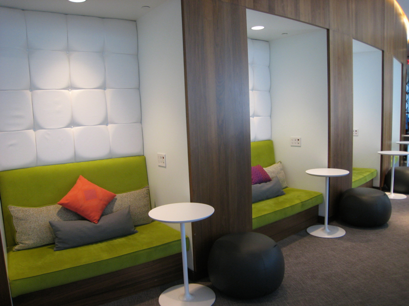 Alcove Work Spaces, AMEX Centurion Lounge Las Vegas