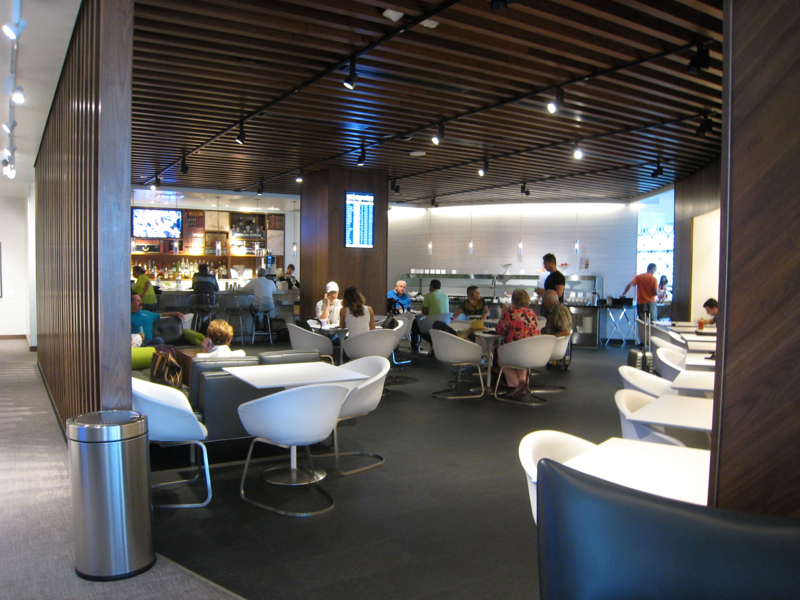 AMEX Centurion Lounge Review, Las Vegas - Dining Area