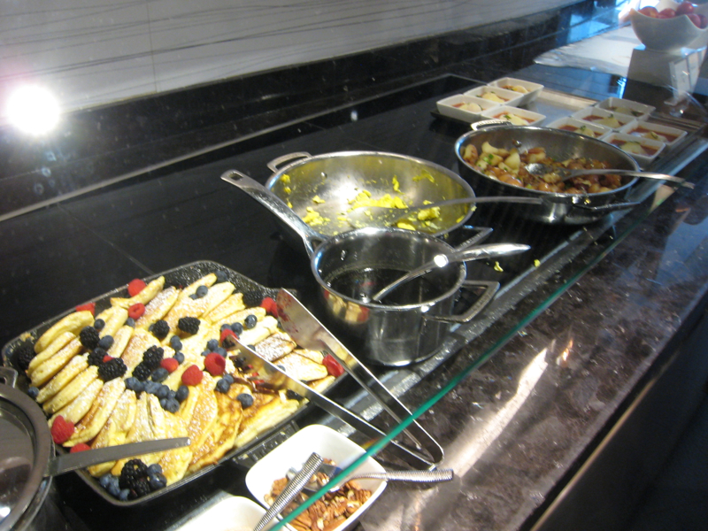 Breakfast Buffet, AMEX Centurion Lounge, Las Vegas