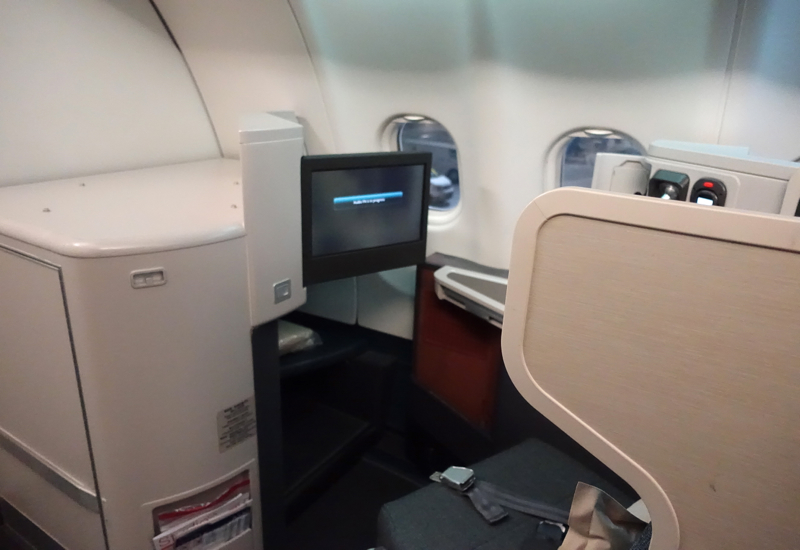Cathay Pacific Business Class Review A330 300 Travelsort