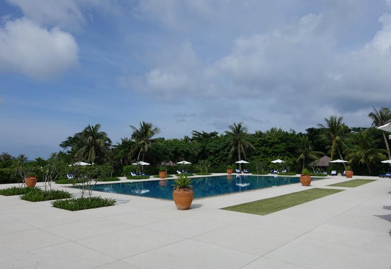Amanpulo Swimming Pool