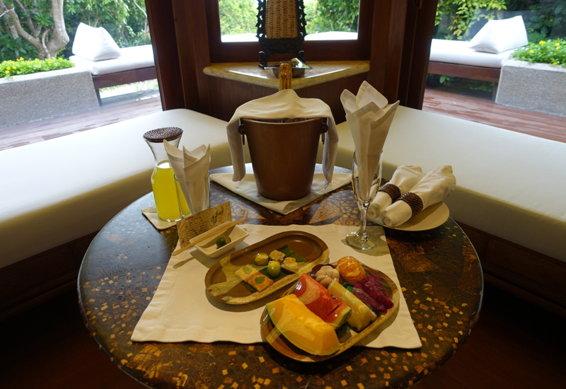 Amanpulo Welcome Amenities
