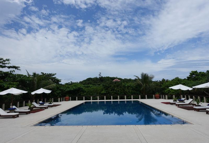 Pool, Amanpulo