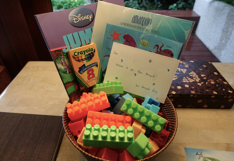 Kids' Welcome Amenities, Amanpulo