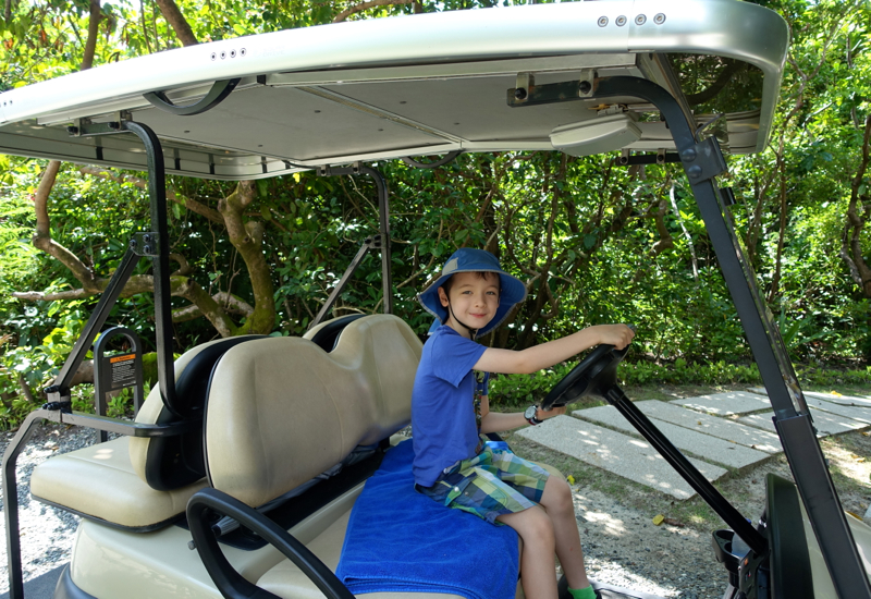 Amanpulo Review - Getting Ready to Drive Our Buggy
