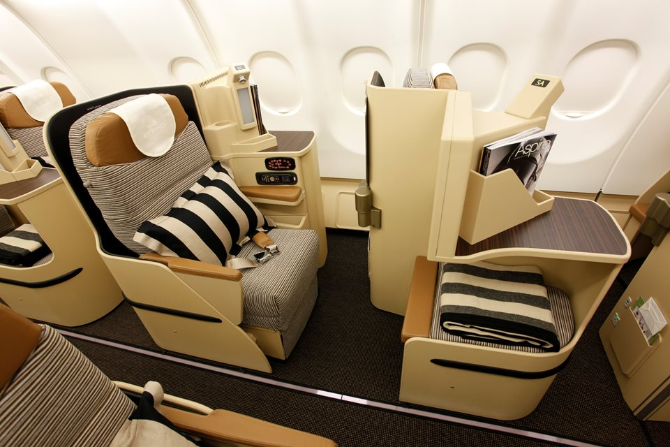Etihad: Upgrade to Business Class Using Miles? | TravelSort