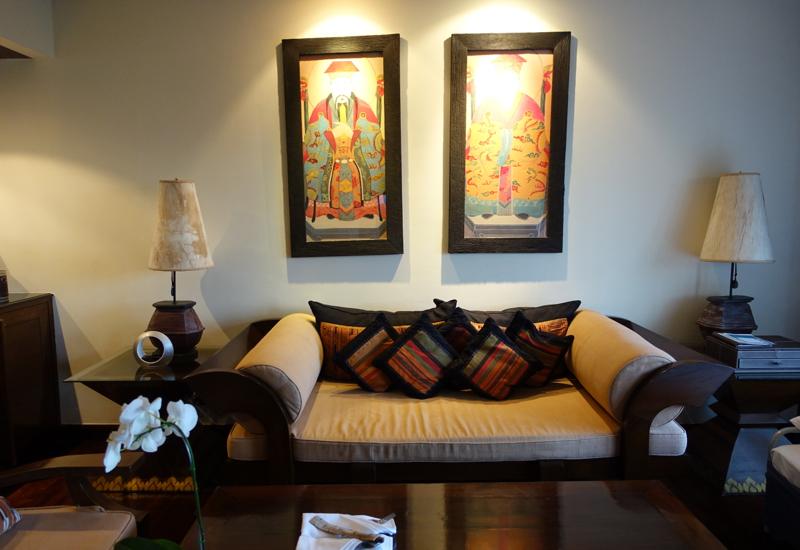 Anantara golden triangle elephant camp and resort location lobby and
