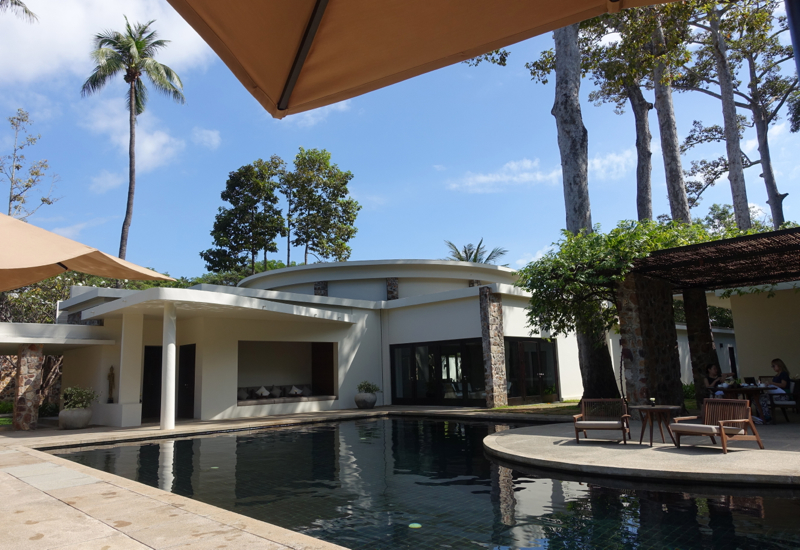 Amansara Review-Main Swimming Pool