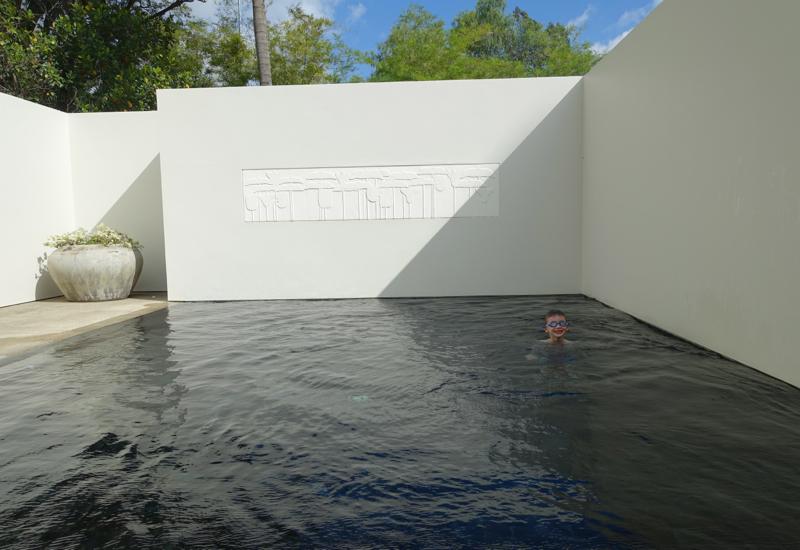 Amansara Pool Suite Review - Private Pool