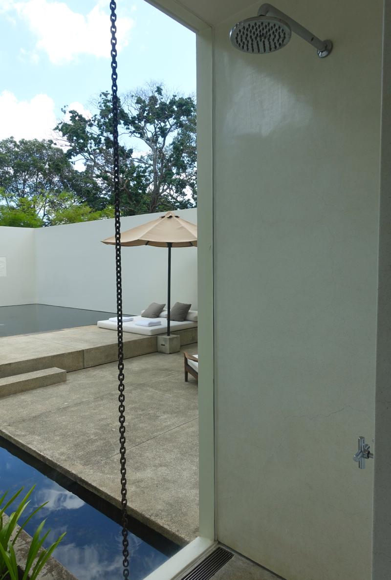 Amansara Pool Suite Shower