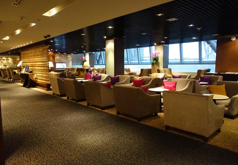 Thai First Class Lounge Bangkok Review - Seating