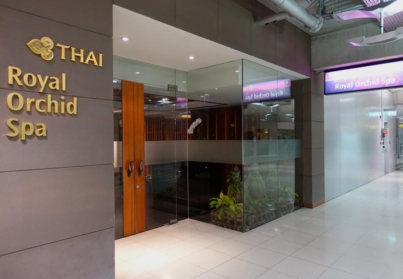 Thai Royal Orchid Spa Bangkok Review - Entrance