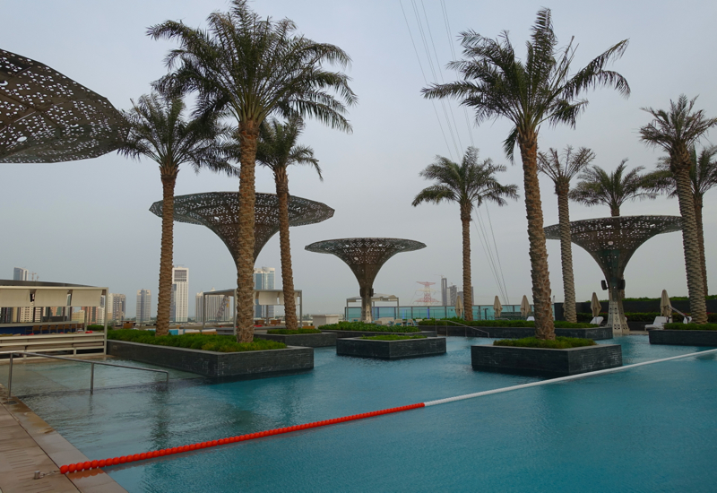 Rosewood abu dhabi hotel review travelsort for Swimming pool offers in abu dhabi