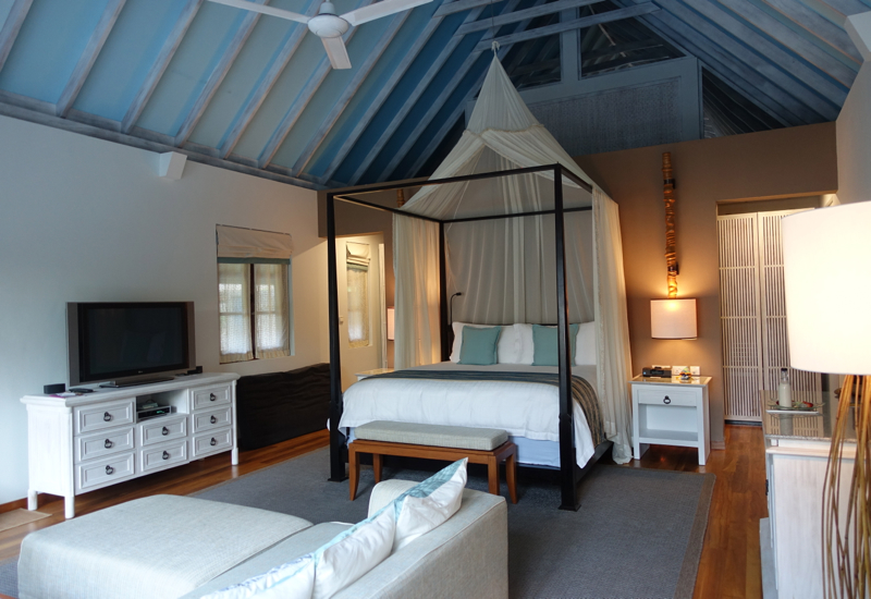 Review-Four Seasons Maldives at Landaa Giraavaru-Beach Bungalow King Bed