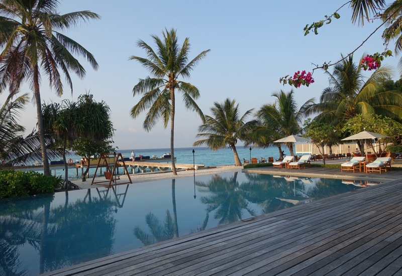 Review-Four Seasons Maldives at Landaa Giraavaru - Saltwater Pool