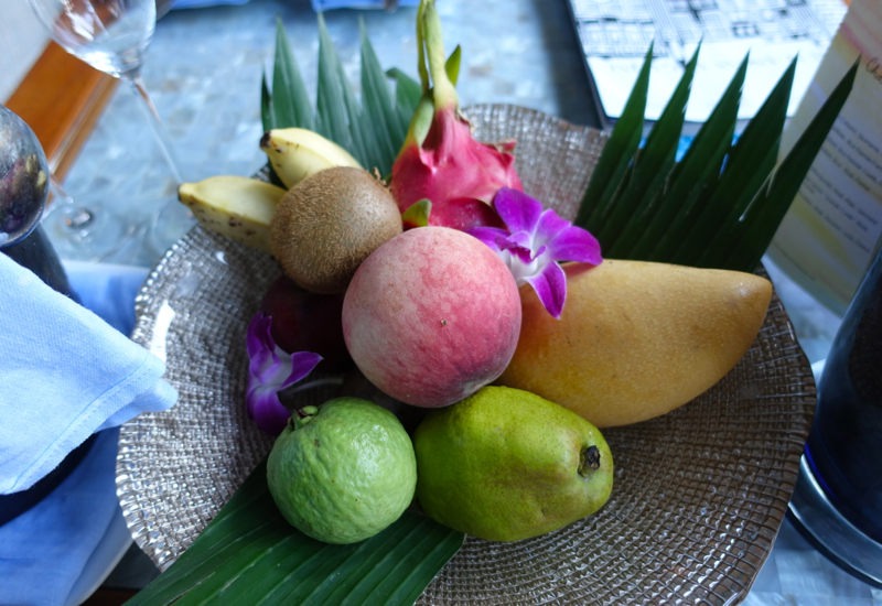 Four Seasons Maldives at Landaa Giraavaru-Fruit Welcome Amenity
