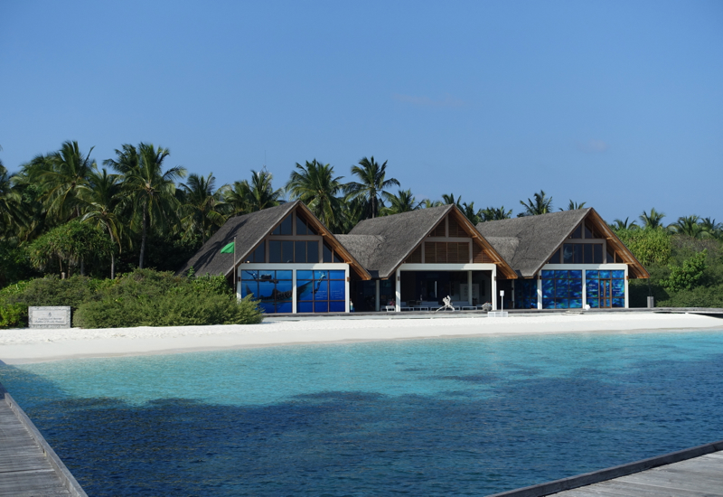 Four Seasons Maldives at Landaa Giraavaru Review-Jetty and Dive Center