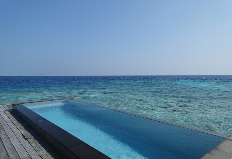 Four Seasons Maldives at Landaa Giraavaru Review-Sunset 2 Bedroom Suite on Water Villa Jetty