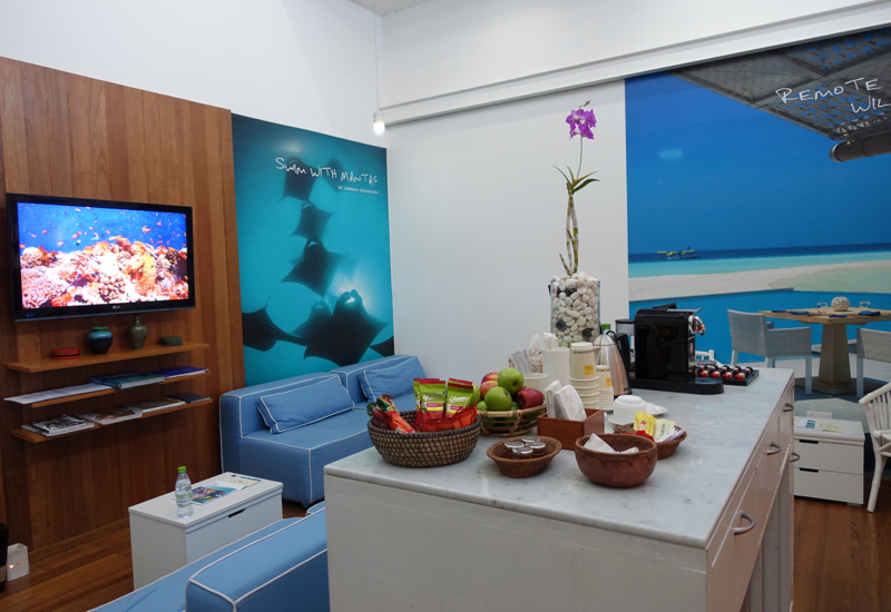 Four Seasons Maldives at Landaa Giraavaru Review - Male Airport Arrival Lounge