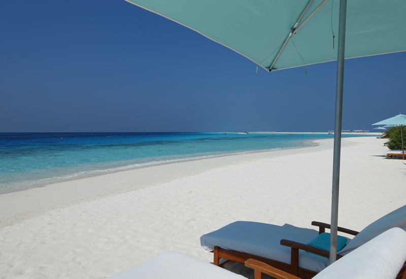 Four Seasons Maldives at Landaa Giraavaru Review - Beach by Beach Villa