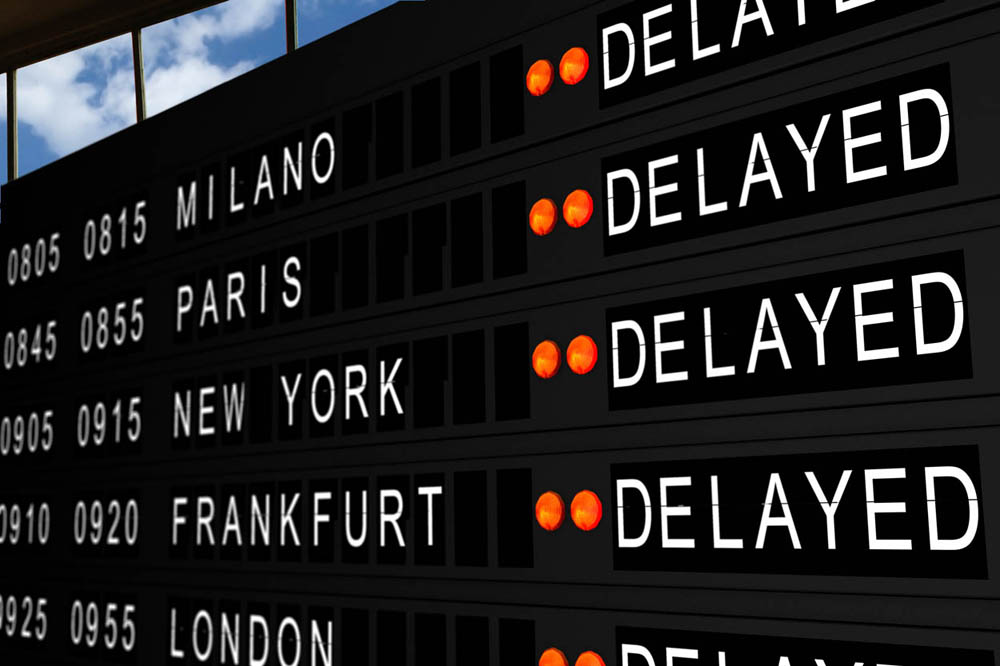 What can you do in flight delay time?