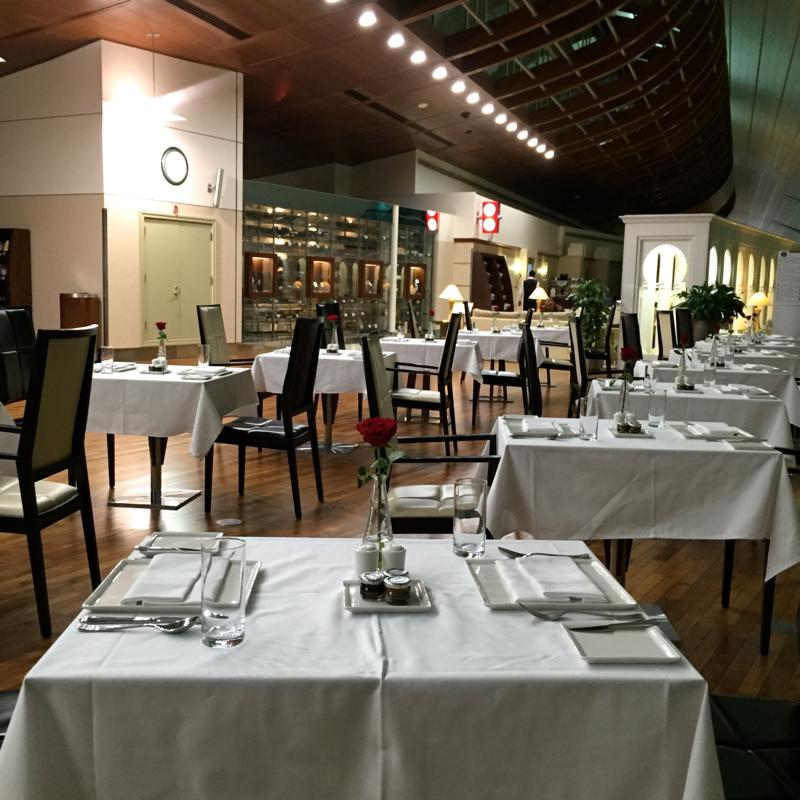 Skyteam Lounge Dubai Lounge Dubai Review-dining