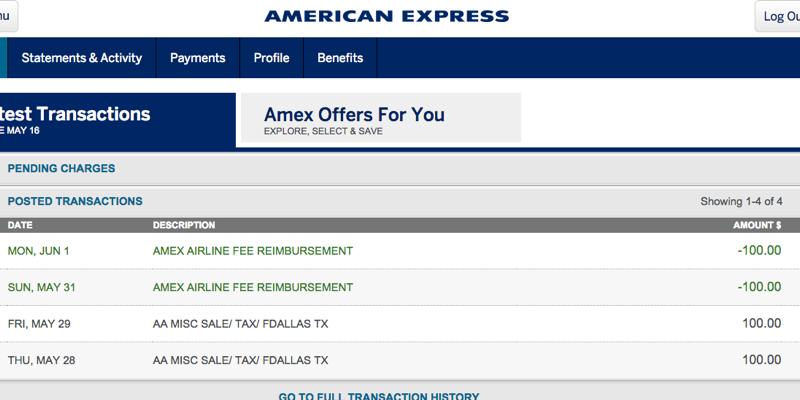 blog maximizing amex platinum airline credit