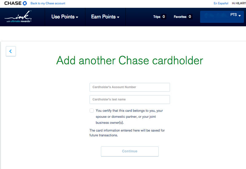 Chase Ultimate Rewards Transfer Rules: Spouse or Domestic Partner Only