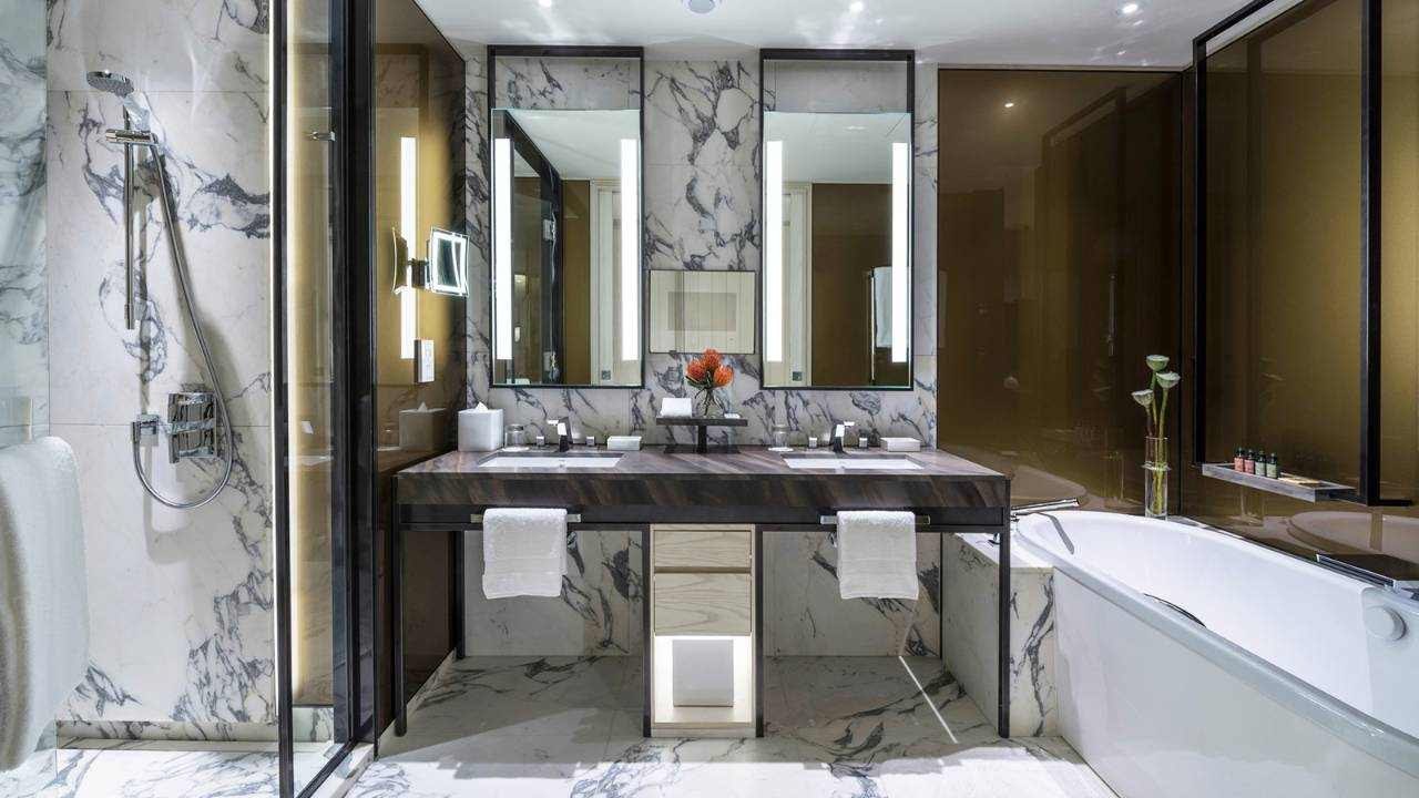 New four seasons seoul opening special plus preferred for 5 star hotel bathroom designs
