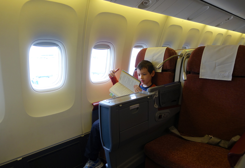 Review Tam Airlines New Business Class 767 300er Travelsort