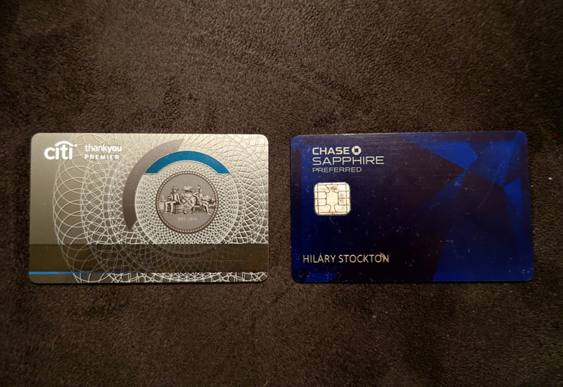 Chase Sapphire Preferred Or Citi Thankyou Premier Which