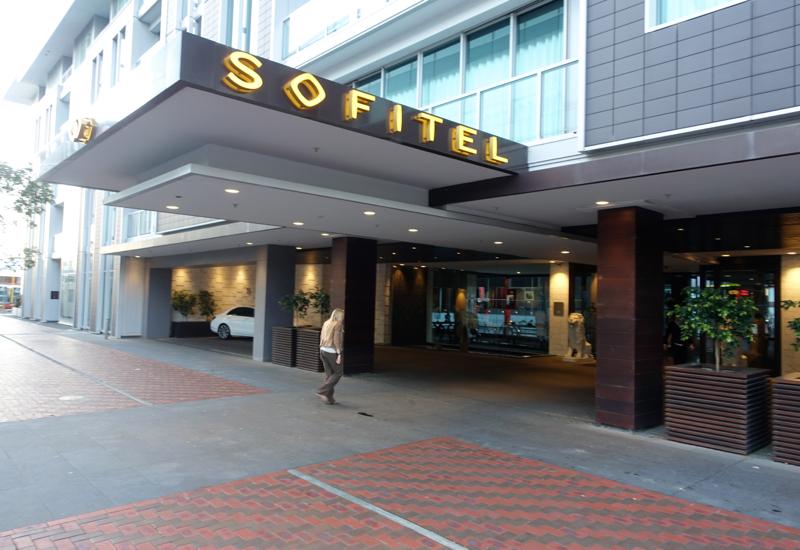 Entrance, Sofitel Auckland Viaduct Harbour Review