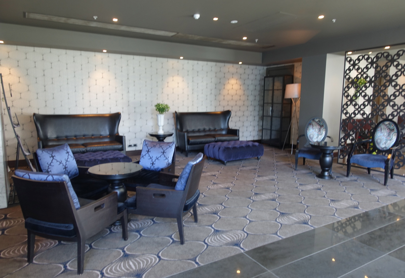 Lobby Seating, Sofitel Auckland Review
