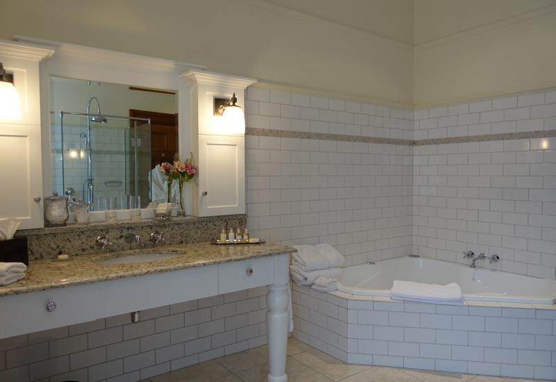 Clark Suite Bathroom, Otahuna Lodge Review