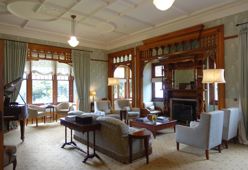 Review: Otahuna Lodge Drawing Room
