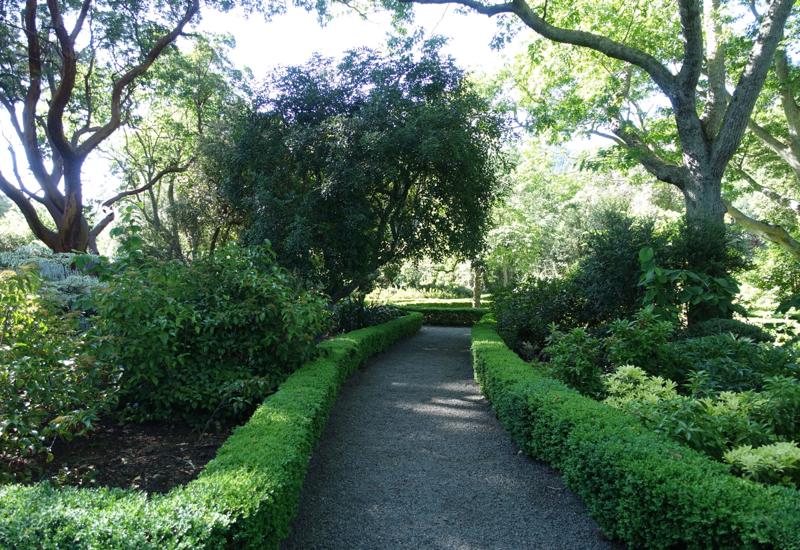 Dutch Garden, Otahuna Lodge Review