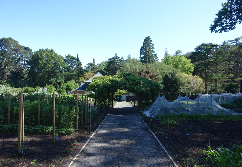 Potager Garden, Otahuna Lodge Review