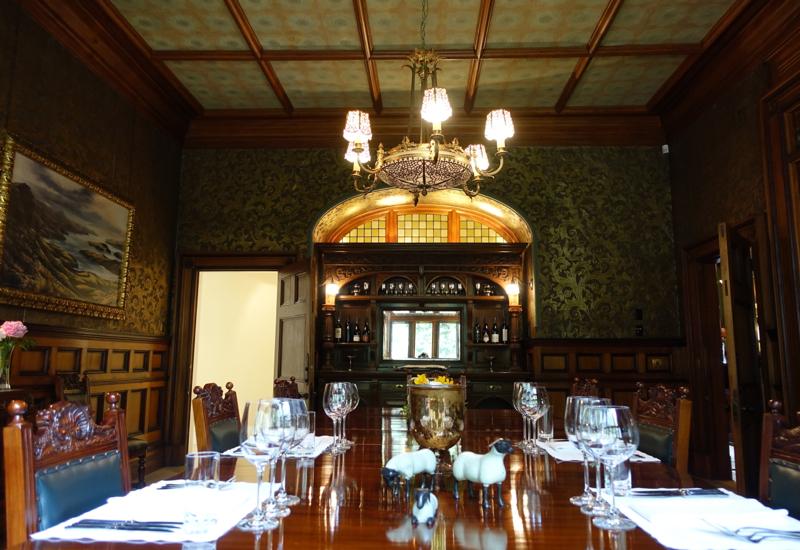 Dining Room, Otahuna Lodge Review