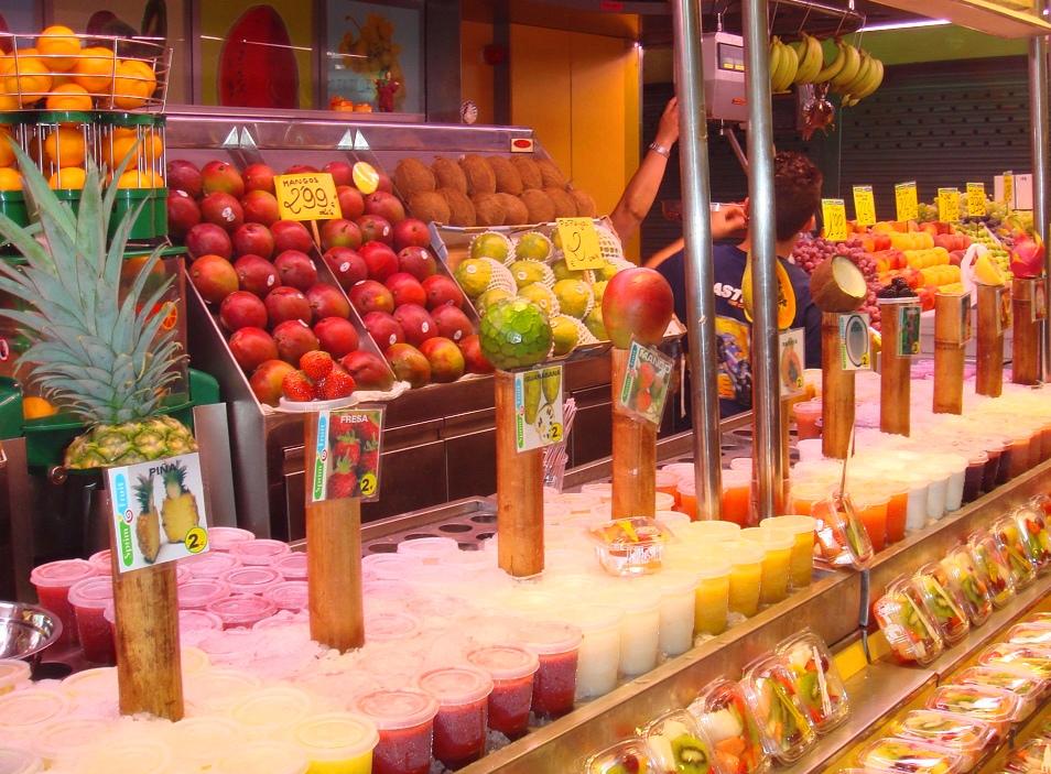 Fresh Fruit Juice Bar Images
