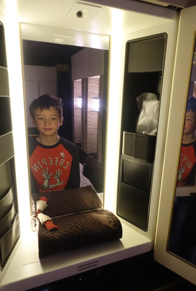 Etihad First Class Shower Review: Etihad ...