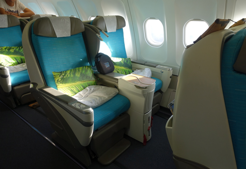 Air Tahiti Nui Business Class Review A340 300 Travelsort