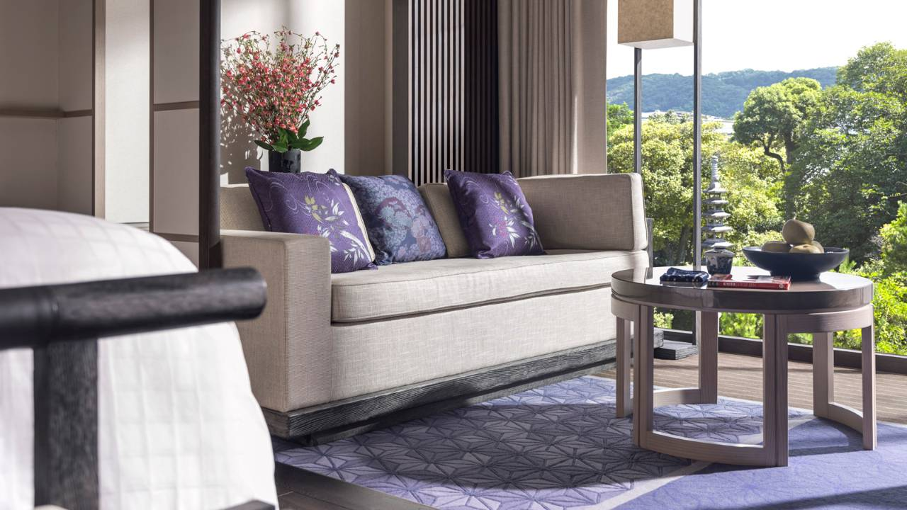Four seasons kyoto now open for reservations intro offer for Garden room 4 seasons