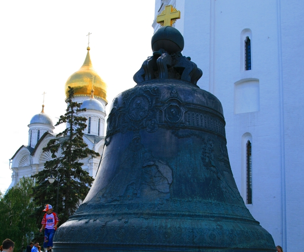 Tsar Bell, Kremlin, Moscow, Russia