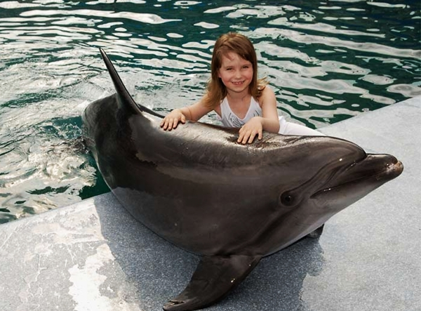 Moscow Dolphinarium, Russia