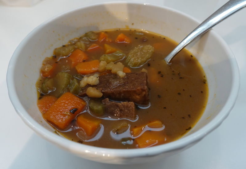 Beef Barley Soup, 2nd Visit to AMEX Centurion Studio SEA Review