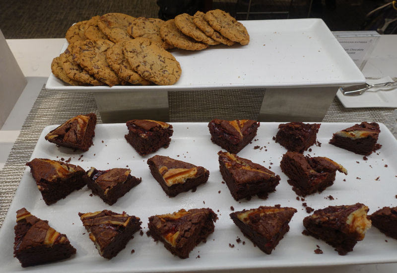 Cookies and Brownies, AMEX Centurion Studio Seattle Review