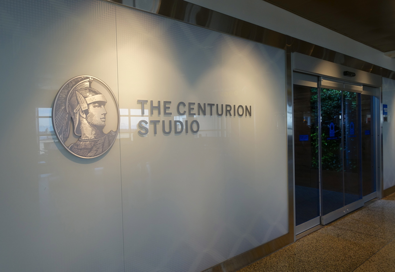 Review: AMEX Centurion Studio Seattle Airport Entrance