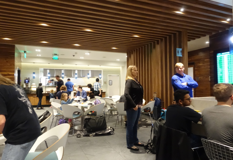 AMEX Centurion Lounge San Francisco Review-Dining Room Seating