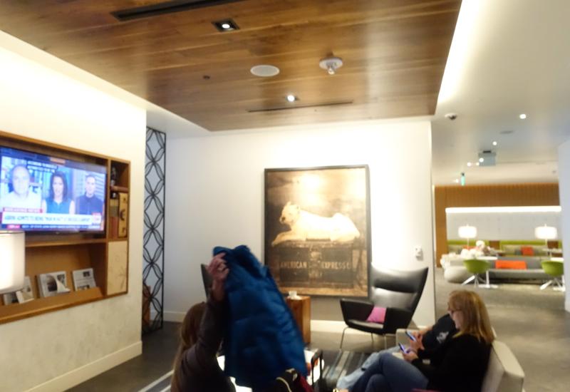 Review: AMEX Centurion Lounge San Francisco Airport SFO