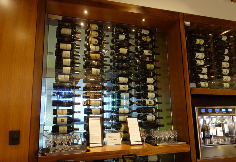Wines, AMEX Centurion Lounge San Francisco Review